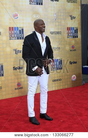 LOS ANGELES - JUN 4:  Terry Crews at the 10th Annual Guys Choice Awards at the Sony Pictures Studios on June 4, 2016 in Culver City, CA