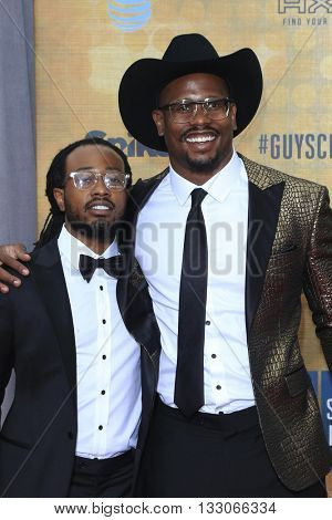 LOS ANGELES - JUN 4:  Vince Miller, Von Miller at the 10th Annual Guys Choice Awards at the Sony Pictures Studios on June 4, 2016 in Culver City, CA