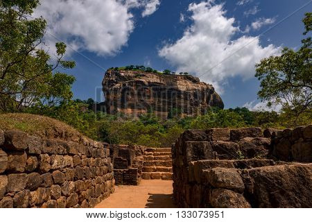 Sigiriya today is a UNESCO listed World Heritage Site. It is one of the best preserved examples of ancient urban planning. It is the most visited historic site in Sri Lanka