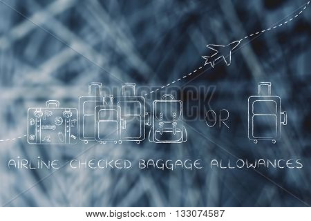 Airline Checked Baggage Allowances: Generous Or Strict