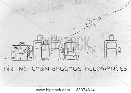 Airline Cabin Baggage Allowances: Generous Or Strict