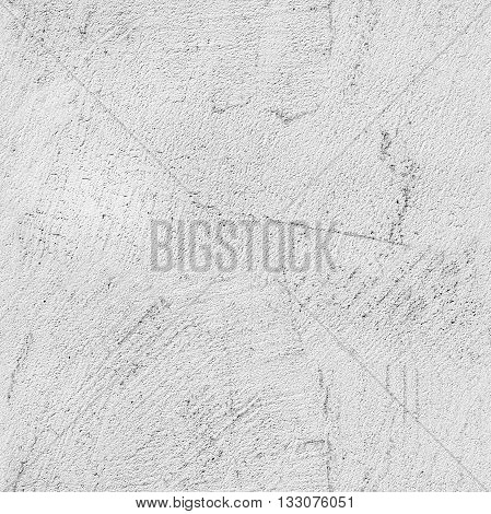Gray Concrete Wall With Stucco Relief Pattern