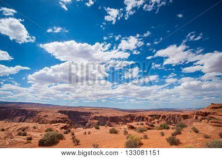Plateau Of Arizona High Desert