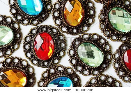 Color Brooches