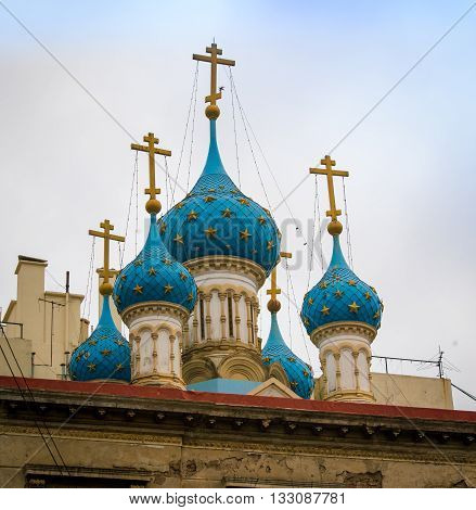 Russian orthodox church in Buenos Aires Argentina