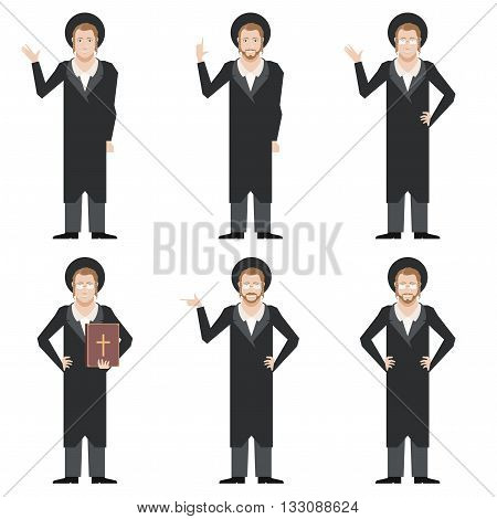 Vector image of the Set of Jews
