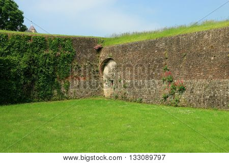 RAMPARTS OF MONTREUIL ON SEA, PAS DE CALAIS, THE NORTH OF FRANCE