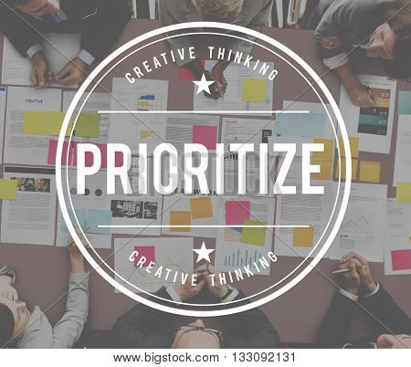 Prioritize Efficiency Importance Order Tasks Concept