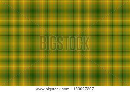 Illustration of orange and dark green checkered pattern