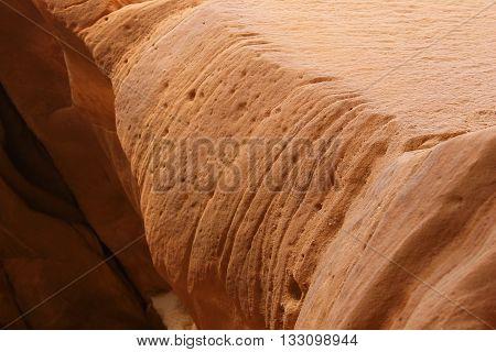 Texture of a canyon rock, Sinai, Egypt