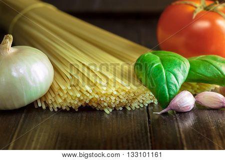 Preparation For Spaghetti