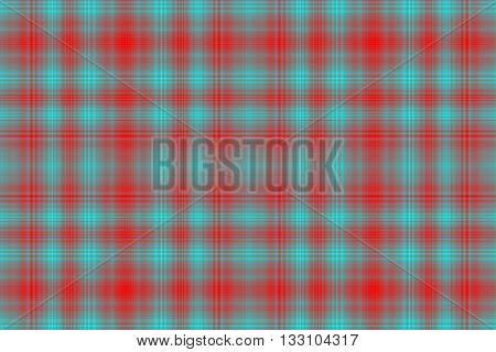 Illustration of red and light blue checkered pattern