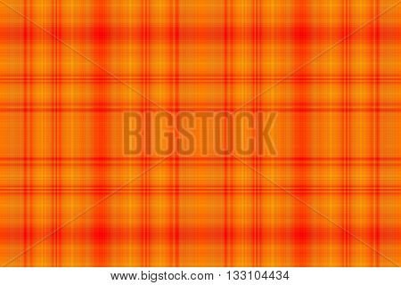 Illustration of red and orange checkered pattern