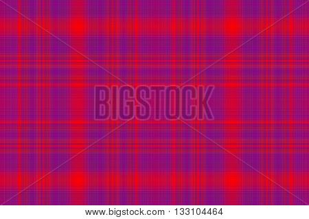 Illustration of red and purple checkered pattern