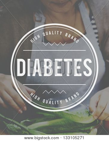 Diabetes Blood Sugar Insulin Medical Disease Concept