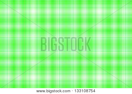 Illustration of green and white checkered pattern