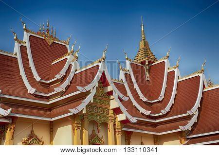 Hor Dhammasapa Wat That Luang Vientiane Laos