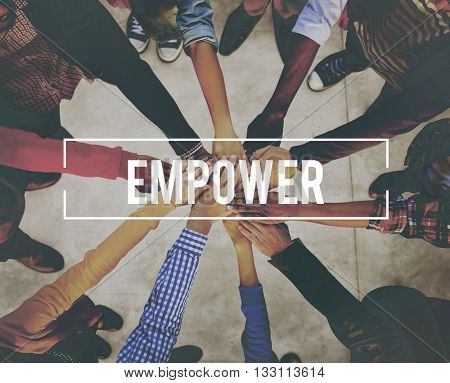 Empower Enable Authorize Liberate Power Concept