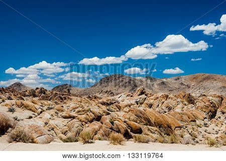 Alabama Hills Rock Formation, Sierra Nevada