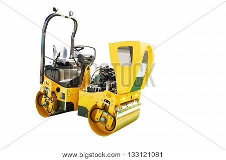 Moder Soil Vibration Roller Compactor Isolated