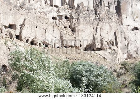 View of Cappadocia near Goreme - Turkey