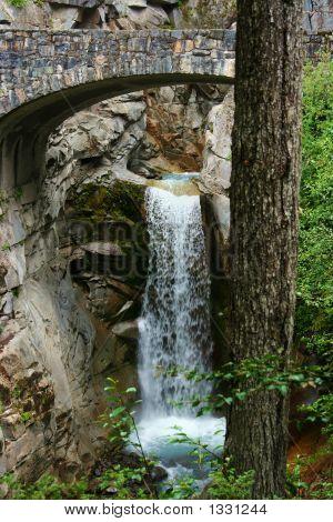 2 Waterfall Mt Rainier