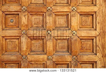 Vintage wooden door background