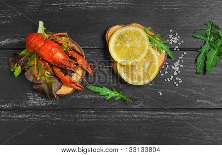 Boiled Crayfish Food Photo