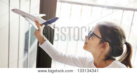 Aviation Airplane Aircraft Plane Transport Trip Concept