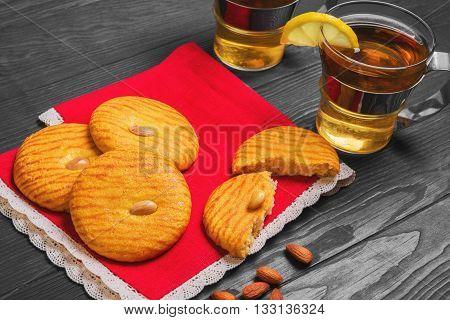 Almonds Cookies Food Photo