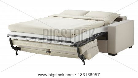 White Couch Bed
