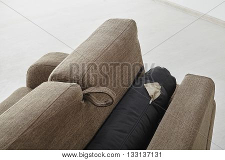 Sofa Isolated Against The Wall