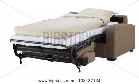 Brown Couch Bed