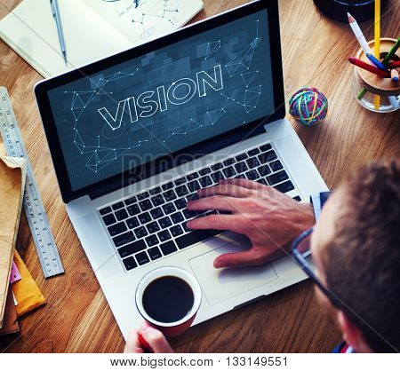 Vision Visibility Observable Noticeably Graphic Concept