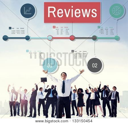 Reviews Evaluation Inspection Assessment Auditing Concept