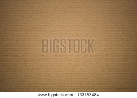 background and texture of brown paper corrugated sheet board surface