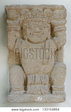 The Gana Dwarf Figure Relief 10th century