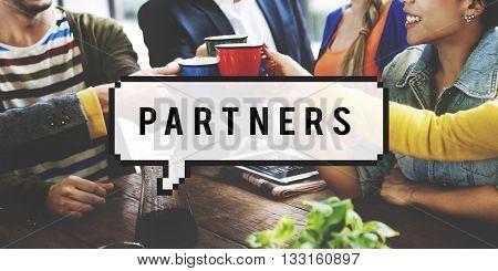 Partners Alliance Collaboration Teamwork Team Concept