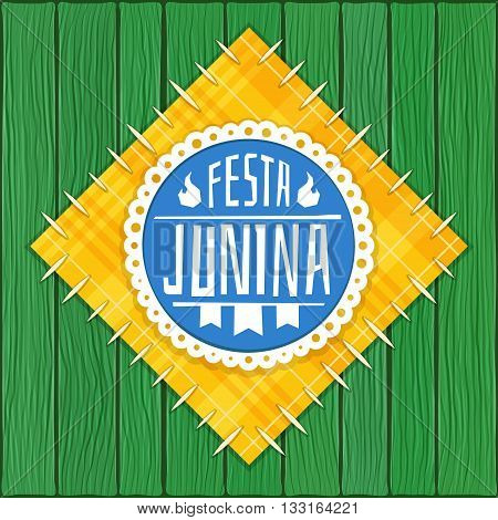 Festa Junina -  Brazilian  (June Party) Logo