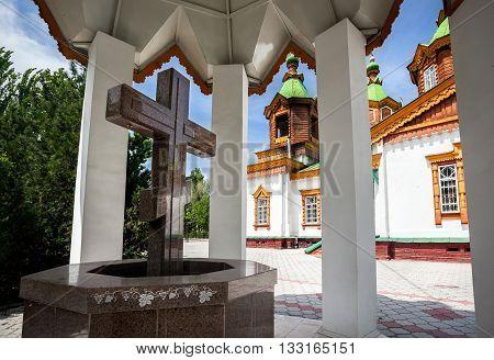 Old Church In Kazakhstan