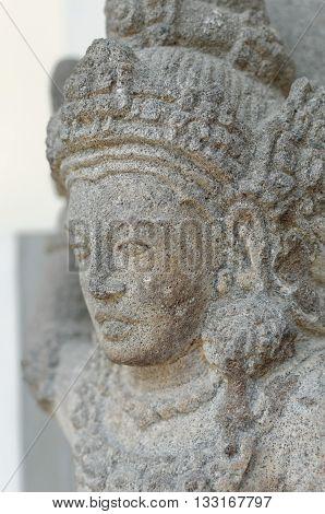 Head of Goddess Durga Mahisasura Mardhini Statue 10th century
