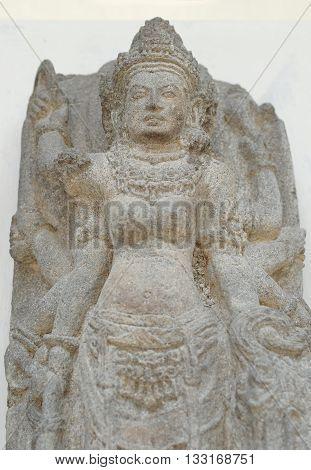 The Statue of Goddess Durga Mahisasura Mardhini 10th century