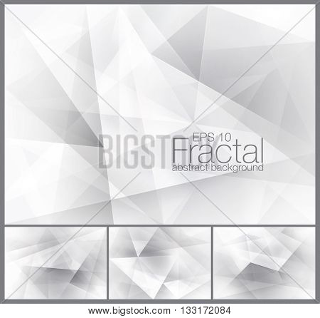 Fractal abstract background. Suitable for your design element and background