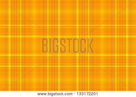 Illustration of yellow and orange checkered pattern