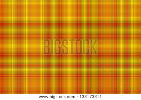 Illustration of yellow and red checkered pattern