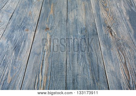 Serenity wood texture and background. Serenity blue wood texture background. Rustic, old wooden background. Aged wood planks texture pattern. Wooden surface. Vertical image.