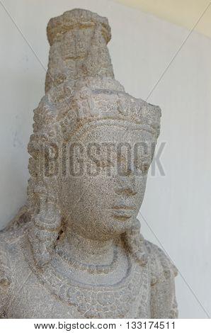 Head of The Padmapani Statue 8th - 10th century
