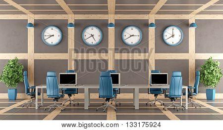 Elegant Modern Boardroom