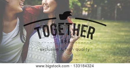 Together Community Friend Family Society Unity Concept