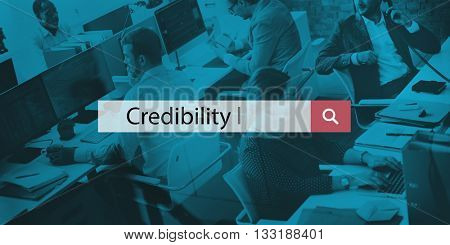 Credibility Trustworthy Integrity Trust Dependability Concept